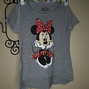 Disney Minnie Graphic Hi-Lo T-Shirt 10/12 4/ $20
